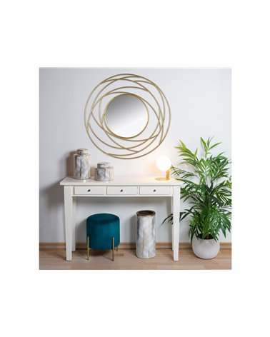 White Console table with 3 drawers