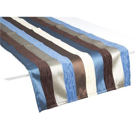 Chemin de table motegi bleu