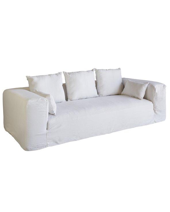 White sofa Ibiza