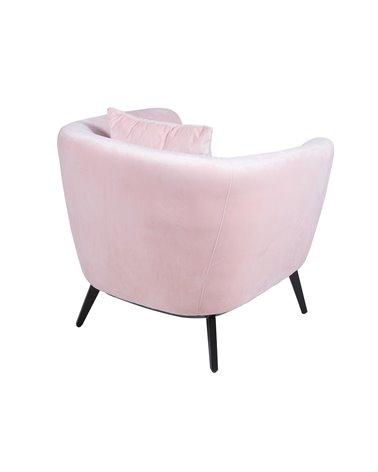 Circle pink armchair