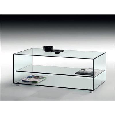 Mesa de centro cristal Kolet 105 cm