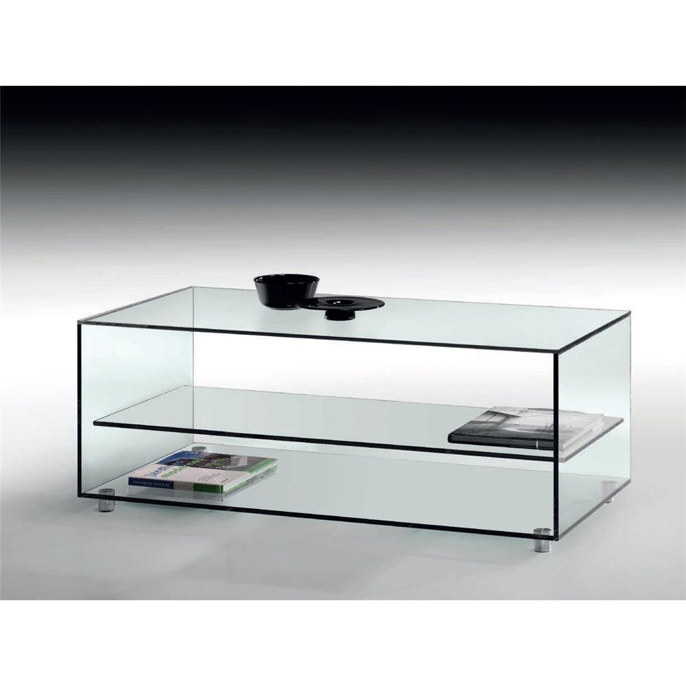 Crystal coffee table Kolet 105 cm