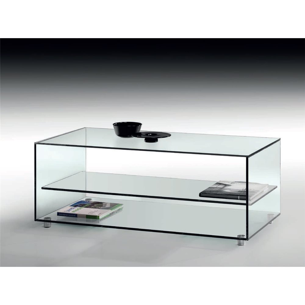 Taula de centre cristall Kolet 105 cm