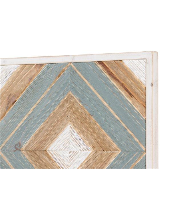 Decoración de parede madeira