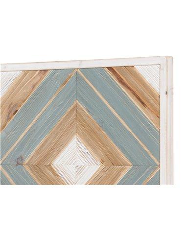Decoració de paret fusta