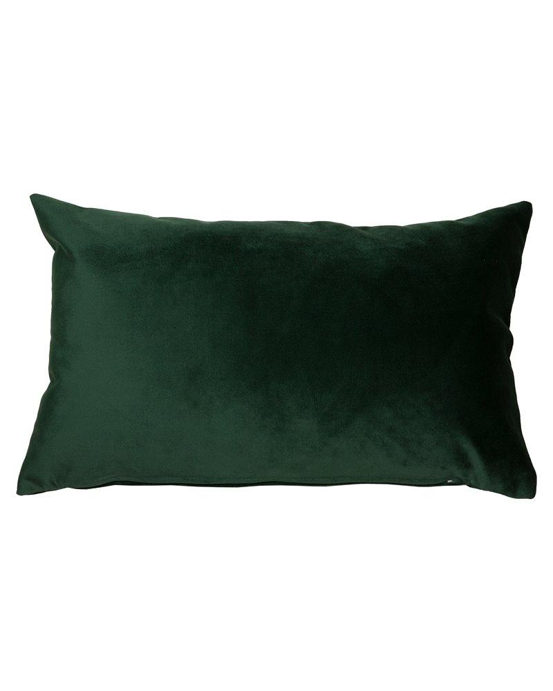 Green Velvet cushion 30x50 cm