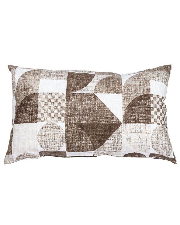 Brown Damero cushion 30x50 cm