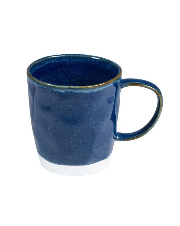 Tasse bleue Intérieurs