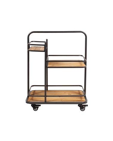 Wheeled shelving