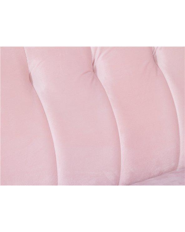 Sofá Velvet rosa