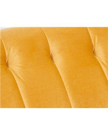 Ocher Velvet sofa