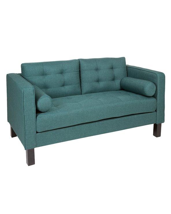 Sofa 2 seater green Alos