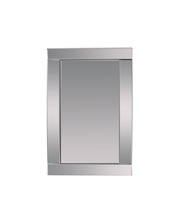 Espello parede rectangular