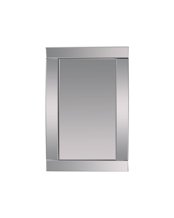 Rectangular wall mirror