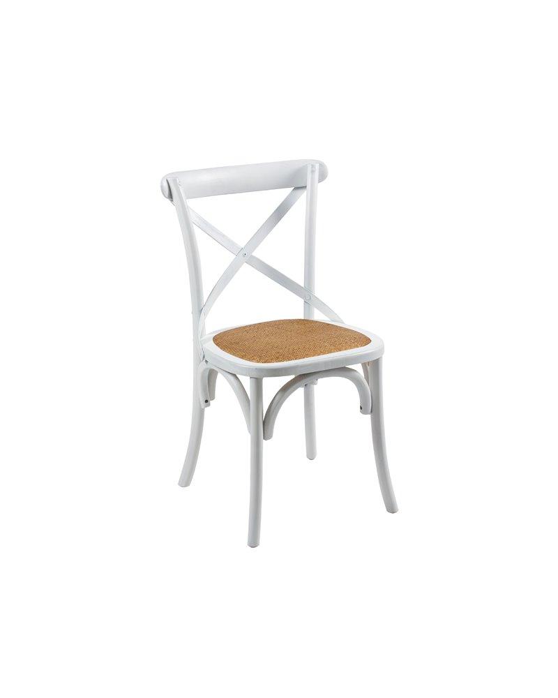 CHAIR ALTEA WHITE 45x42x88