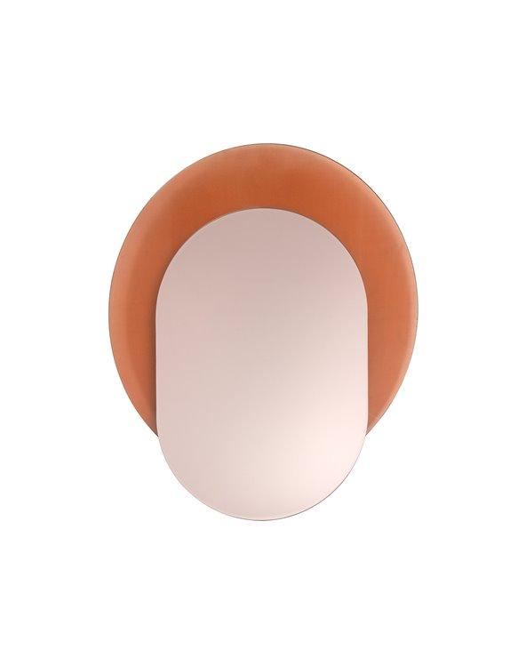 Pink decorative mirror