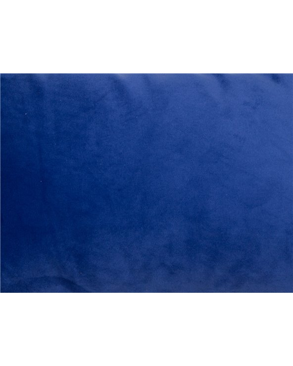 Cojín Velvet azul 30x50 cm