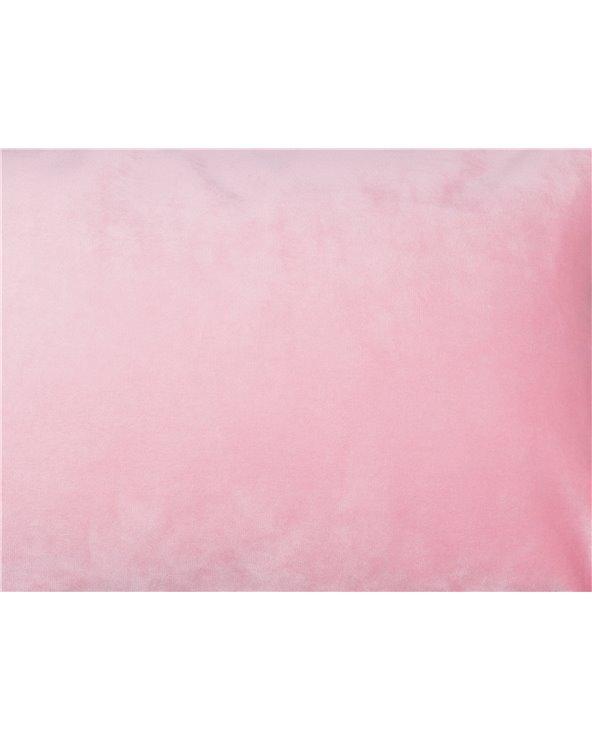 Coxín Velvet rosa