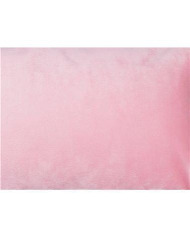 Cojín Velvet rosa