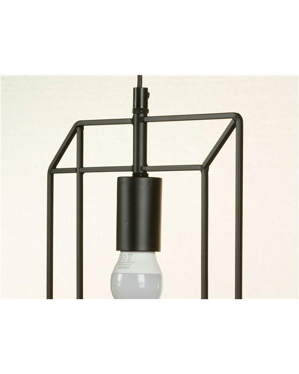 Lámpara de techo metal