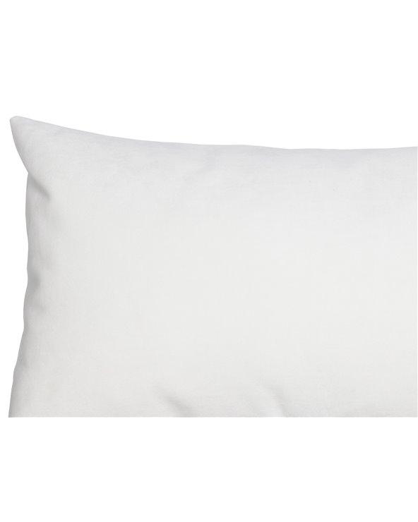 Cojín Velvet blanco