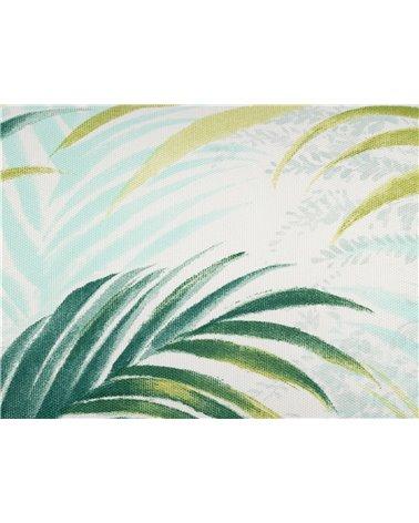Cojín Macapa verde 30x50 cm