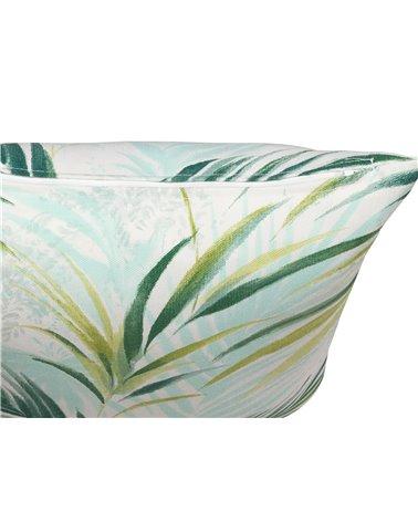 Green Macapa cushion 45x45 cm