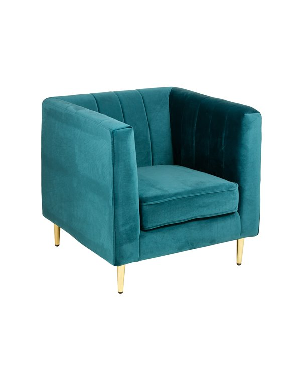Green Velvet armchair