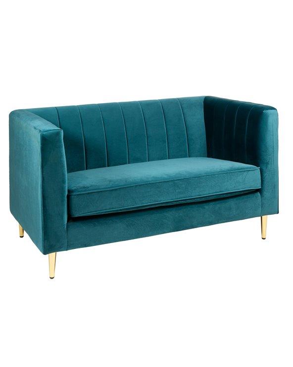 Sofá Velvet verde