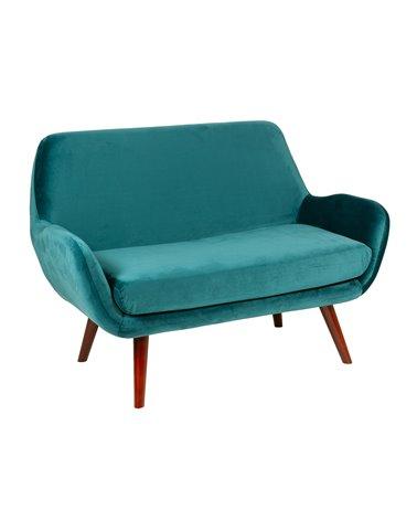 Green Brown sofa