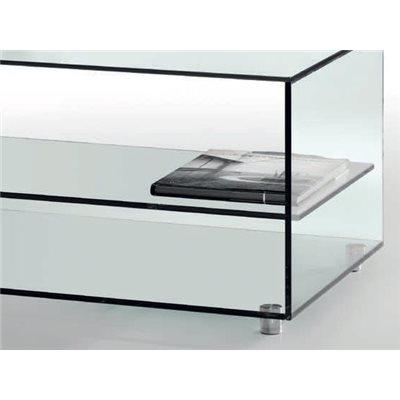 Tavolino di cristallo Kolet 105 cm