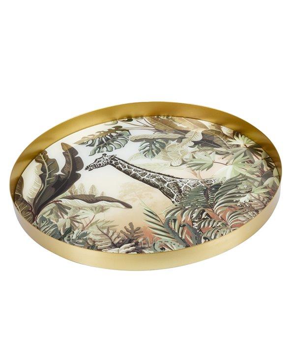 Jungle decorative tray