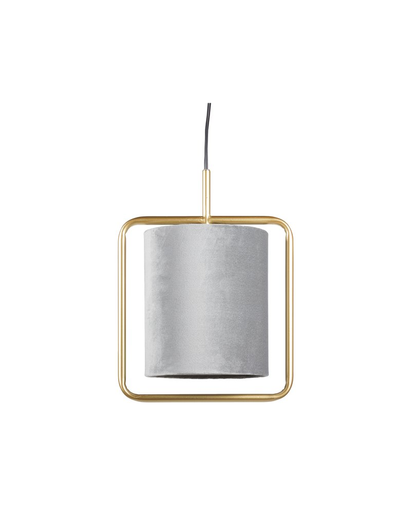 Lámpada de teito gris