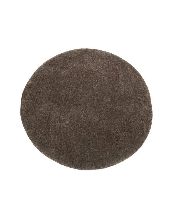 Catifa redona marró