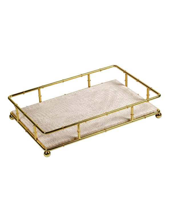 Gold decoration tray