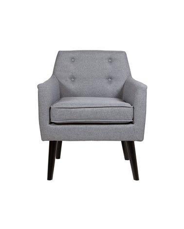 Fabric Gray armchair