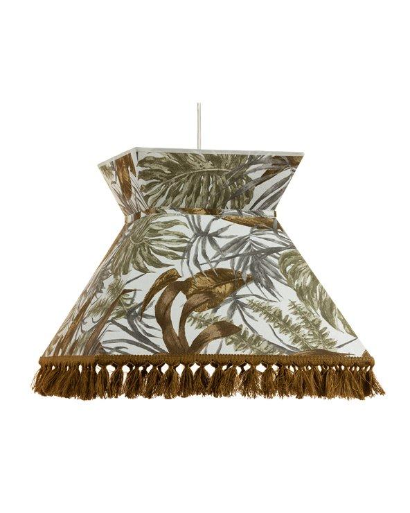 Lámpara de techo Palmeras marrón 40x40 cm