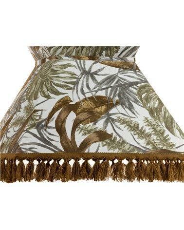 Lámpada de teito Palmeiras marrón 40x40 cm