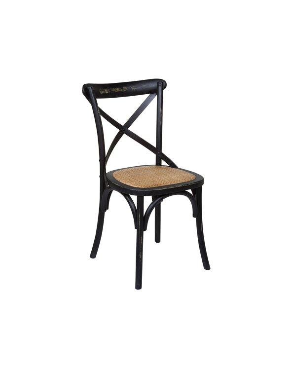 Chair black blades