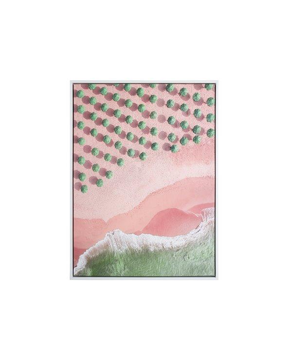 Peinture de mer et de champ