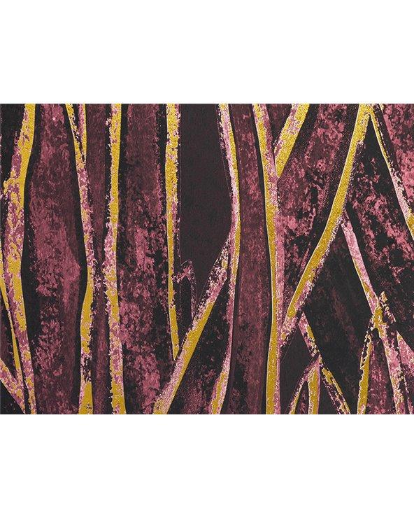 Cuadro hojas oro