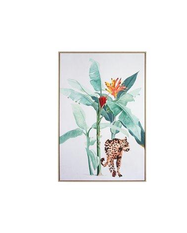 Cuadro leopardo