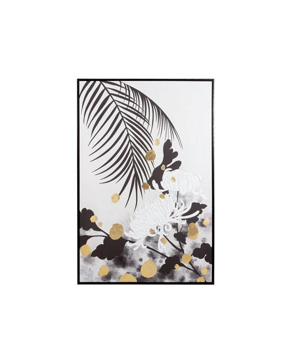 Pittura di crisantemi