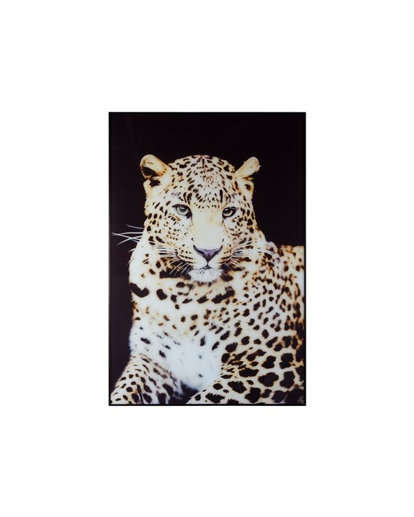 Leopardmålning