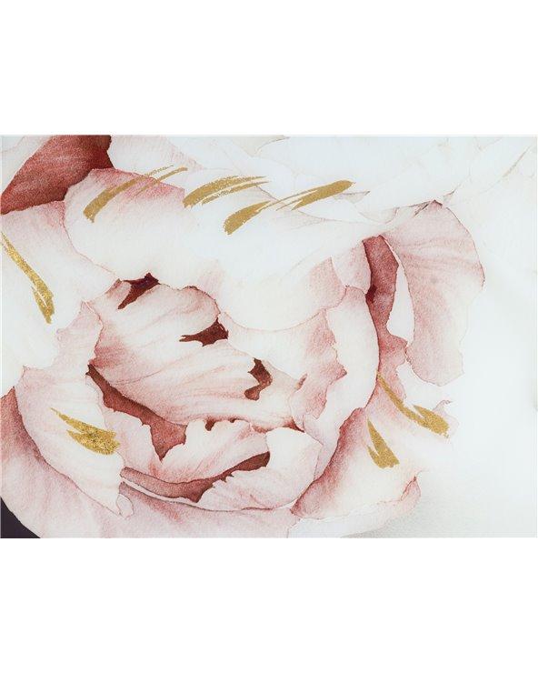 Cuadro flores pelo