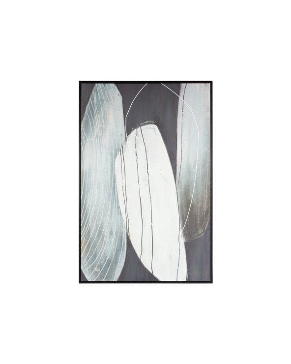 Graue Flecken malerei