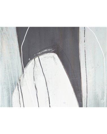 Grijze vlekken schilderij