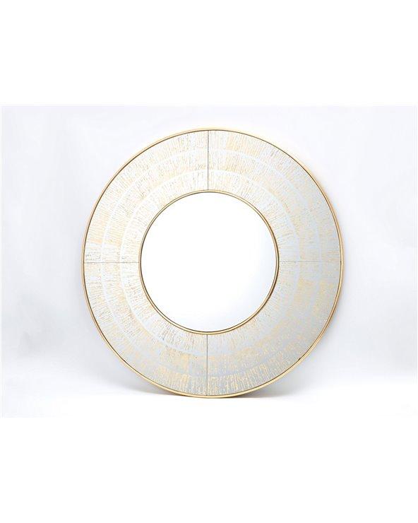 Okrągłe lustro dekoracyjne