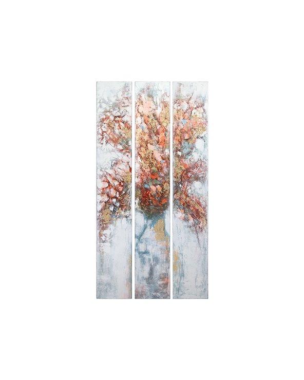 """Set 3 cadros óleo """"Árbore"""""""
