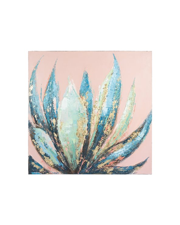 Aloe oil painting